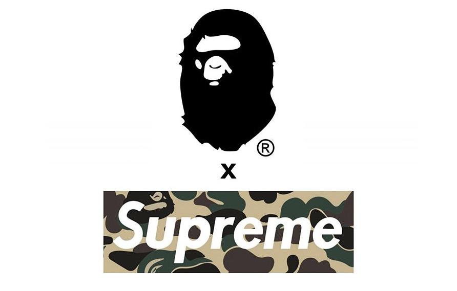 bape x supreme 单品疑似曝光?本季除了 box logo tee 你还期待什么?