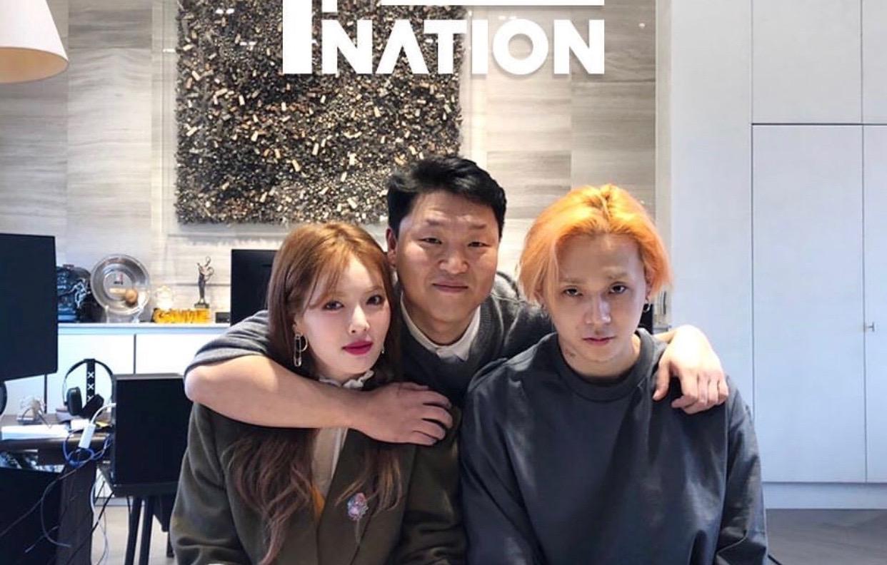 江南style重出江湖!金泫雅和男友签约新公司!